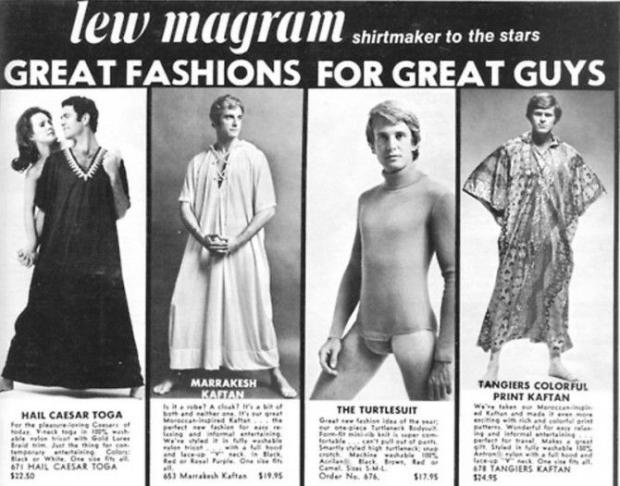 Seventies kaftans en toga's