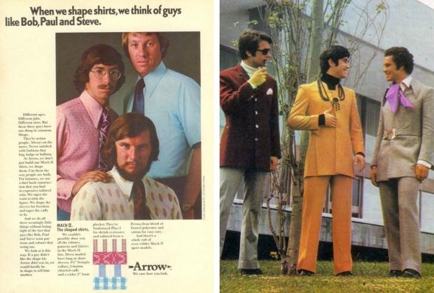 Seventies kantoorkleding mannen