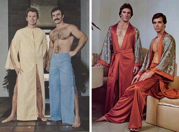 Seventies mannen sleepwear