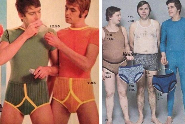 Seventies ondergoed mannen
