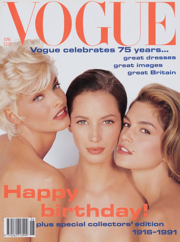 Supermodellen juni 1991