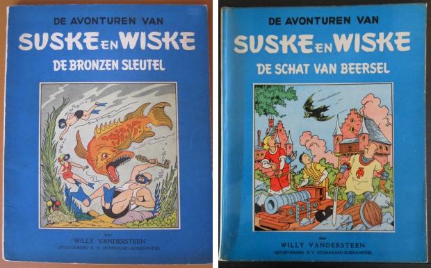 Suske en Wiske blauwe reeks