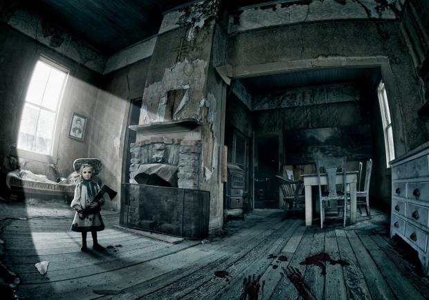 The Watcher huis kinderen spelen