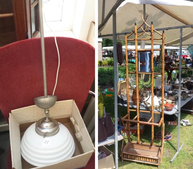 Ugchelen kerkmarkt lamp kapstok
