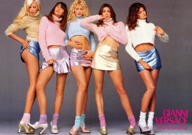 Versace campagne herfst 1994