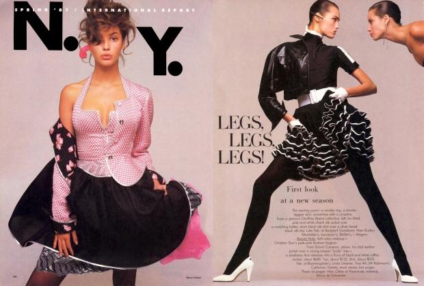 Vogue 1987 supermodellen