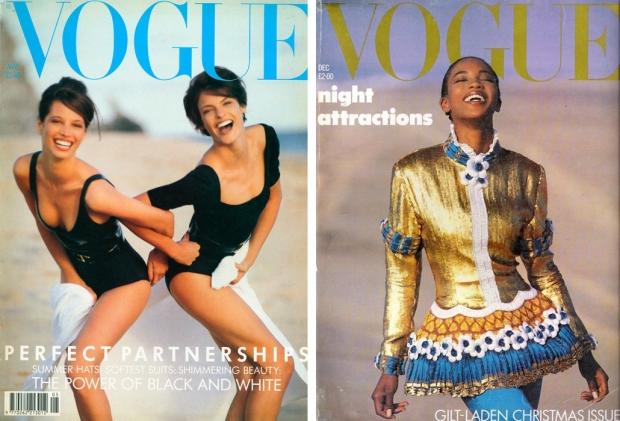 Vogue The Trinity Evangelista Campbell Turlington