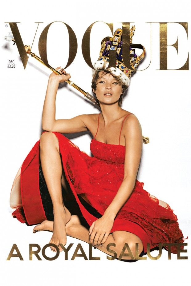 Vogue cover Kate Moss