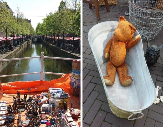 Antiekmarkt Delft