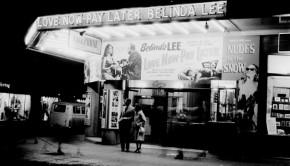 Fotoboek verdwenen Londen bioscoop banner