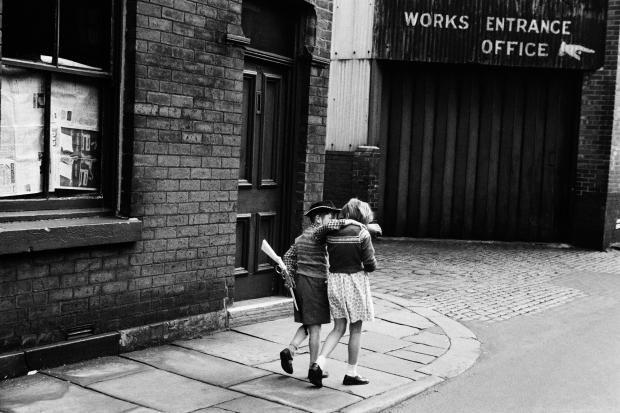 Verdwenen Londen fotoboek cowboy