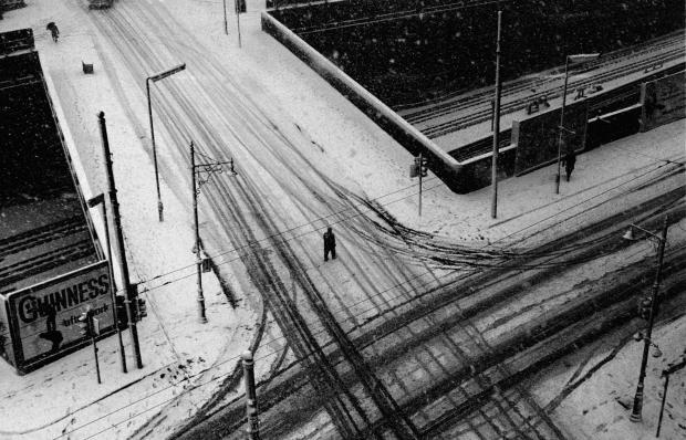 Fotoboek verdwenen Londen sneeuw