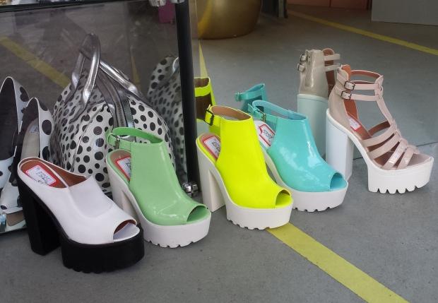 Isis Vaandrager Spice Girls schoenen