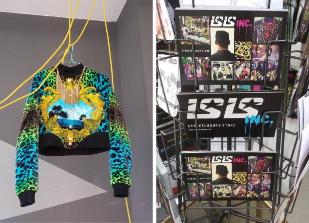 Isis Vaandrager winkel flyers