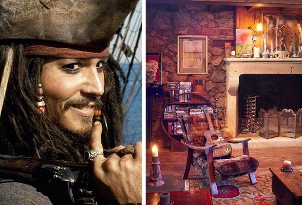 Johnny Depp dorpje te koop interieur