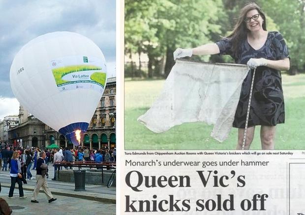 Koningin Victoria luchtballon
