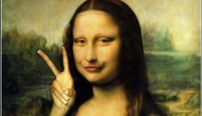 Nep schilderij Mona Lisa