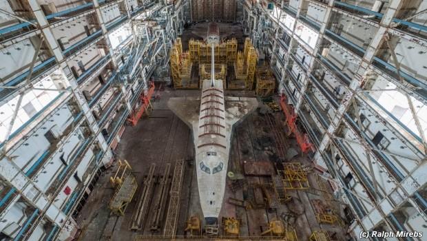 Russische ruimteveren banner