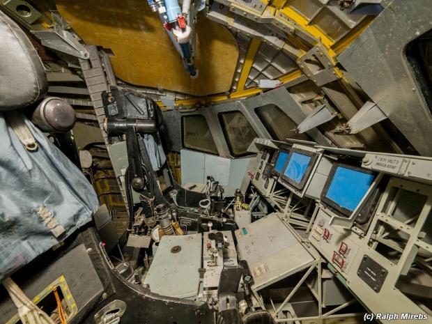 Russische ruimteveren cockpit