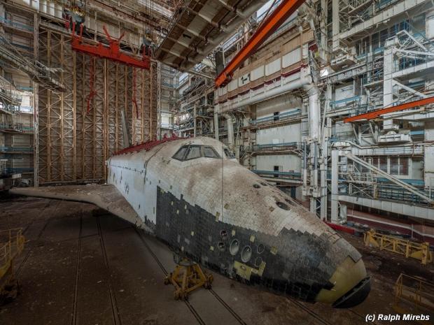 Russische ruimteveren loods Sovjet-Unie