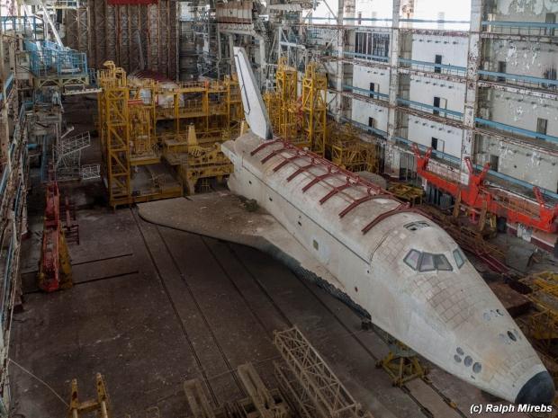 Russische ruimteveren tijdcapsule