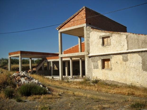 Spaans dorpje Almeria nieuwbouw