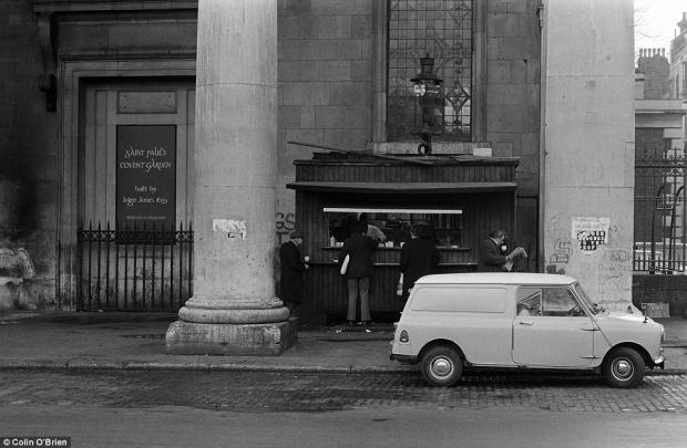 Verdwenen Londen Colin O'Brien Covent Garden