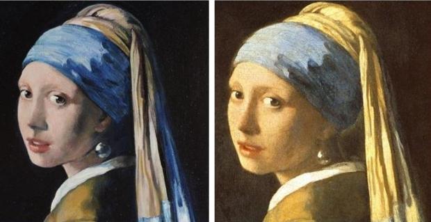 Vermeer nep en echt
