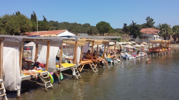 Ayvalik strand omgeving