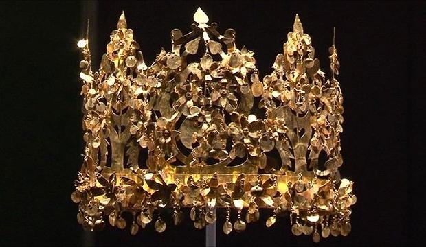 Bactrische goud kroon Afghanistan