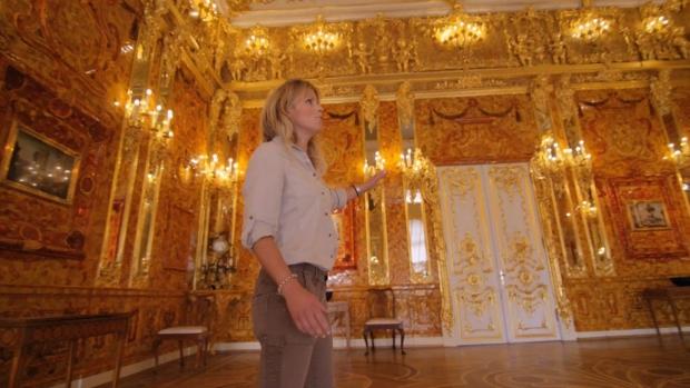 Barnsteenkamer Catharinapaleis zaal