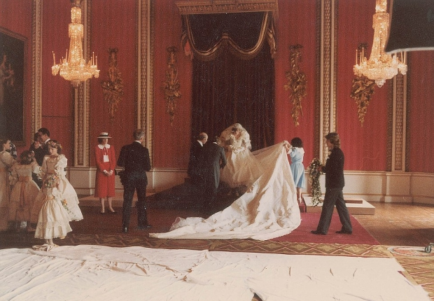 Charles Diana huwelijk foto's veiling