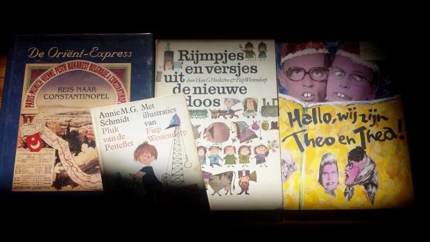 Deventer Boekenmarkt buit Theo en Thea en Pluk Petteflet