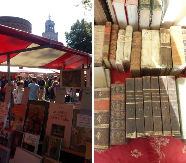 Deventer Boekenmarkt oude boeken