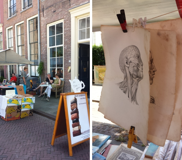 Deventer Boekenmarkt thee