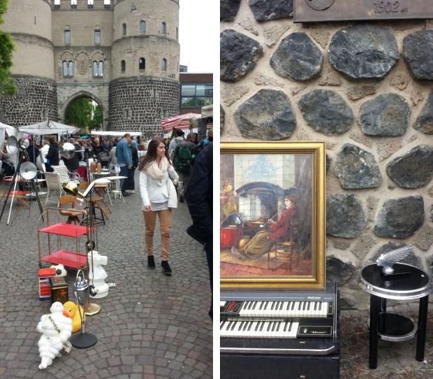 Keulen rommelmarkt schilderij