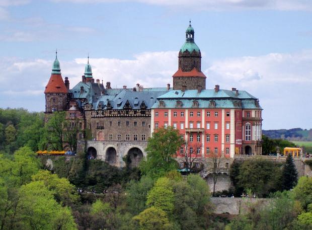 Ksiaz kasteel Polen nazi trein
