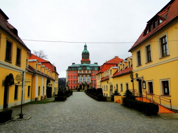 Ksiaz kasteel Polen