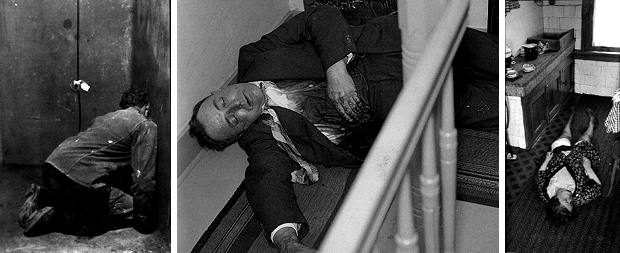 Moord in Rotterdam foto's