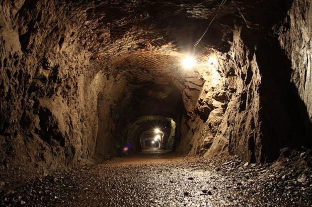 Nazigoudtrein tunnel