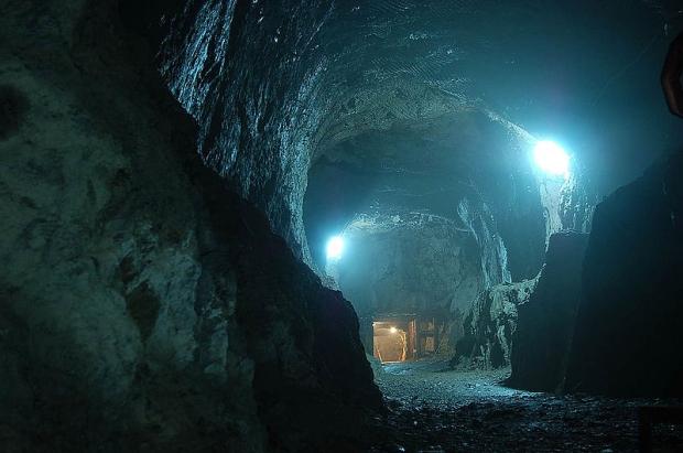 Nazitrein goud tunnel Polen
