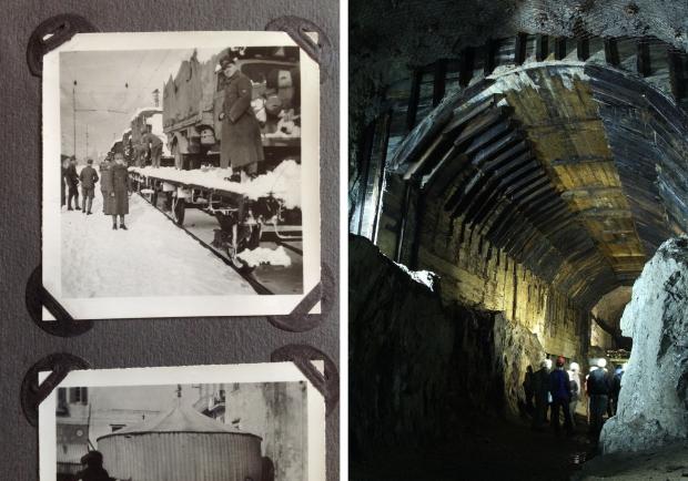 Nazitrein tunnel Polen