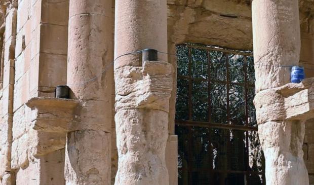 Verwoesting tempel Palmyra