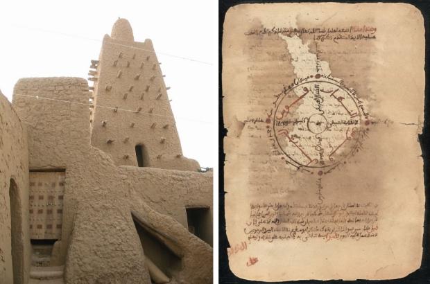 Timboektoe manuscripten mausoleum