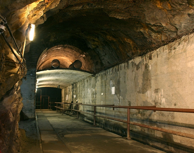Tunnels nazi's