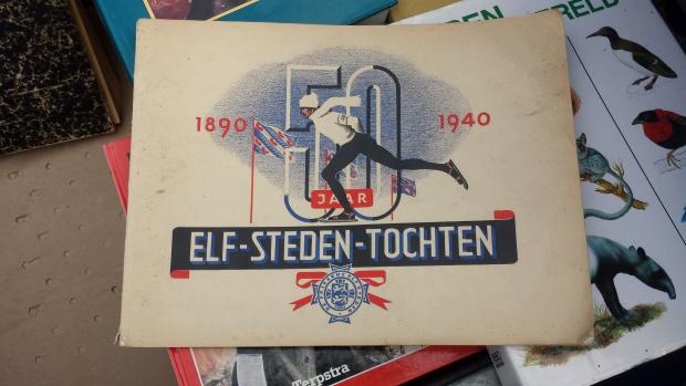 Elfstedentocht schaatsen Hattem vlooienmarkt go with the vlo