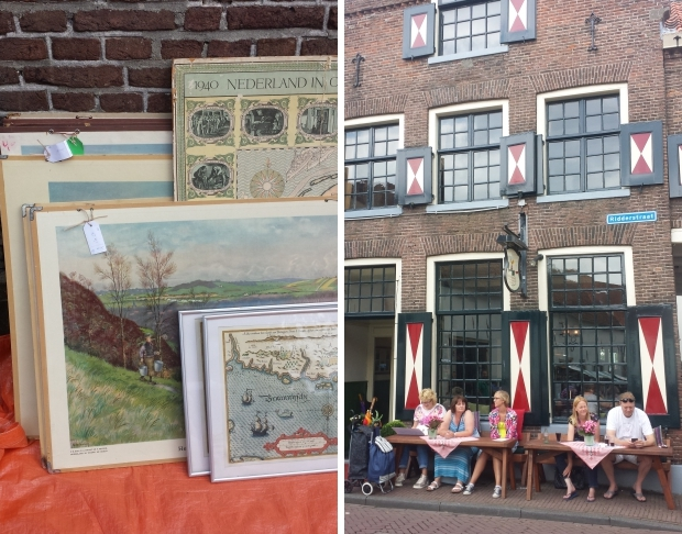 Nederland Hattem schoolplaten vintage rommelmarkt go with the vlo