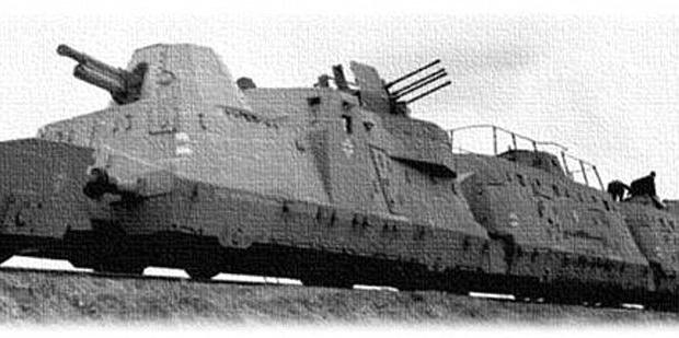 Duitse gepantserde trein Polen