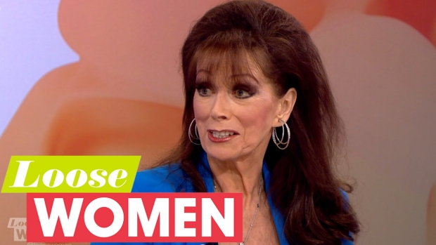 Jackie Collins Loose Women programma