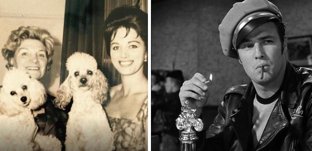 Jackie Collins Marlon Brando relatie